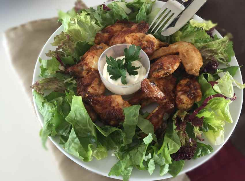 marnated-chicken-wings