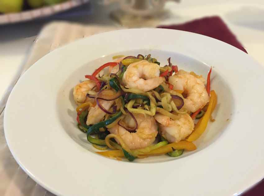 zoodles-with-prawns