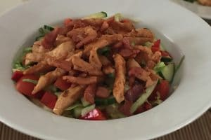 Low Carb Chicken Bacon Salad