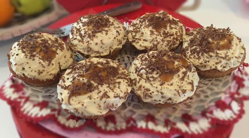 Low Carb Caramel Cupcakes