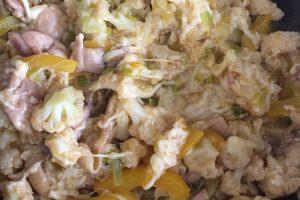 Low Carb Cheesy Cauliflower Chicken Skillet