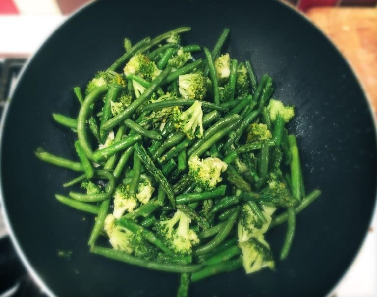Green Stir-Fry Vegetables