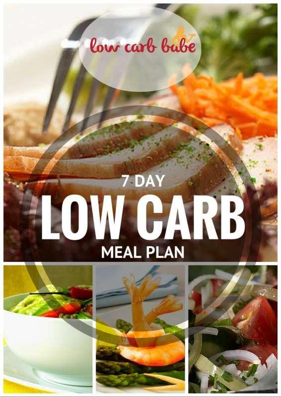 Low Carb Keto 7 Day Meal Plan