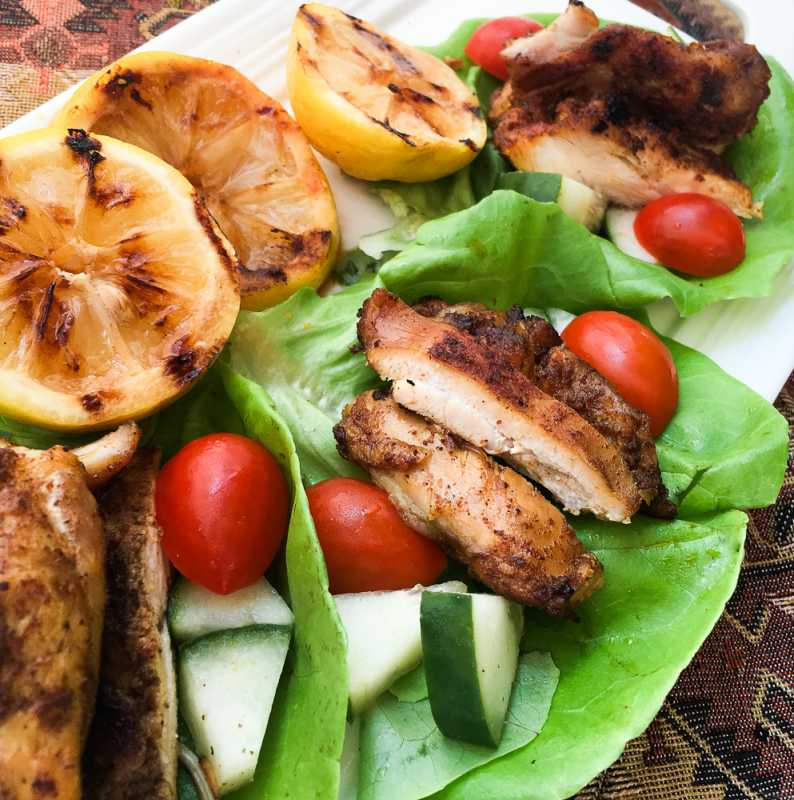 Low Carb Chicken Shawarma Recipe