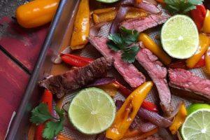 Low Carb Beef Fajitas