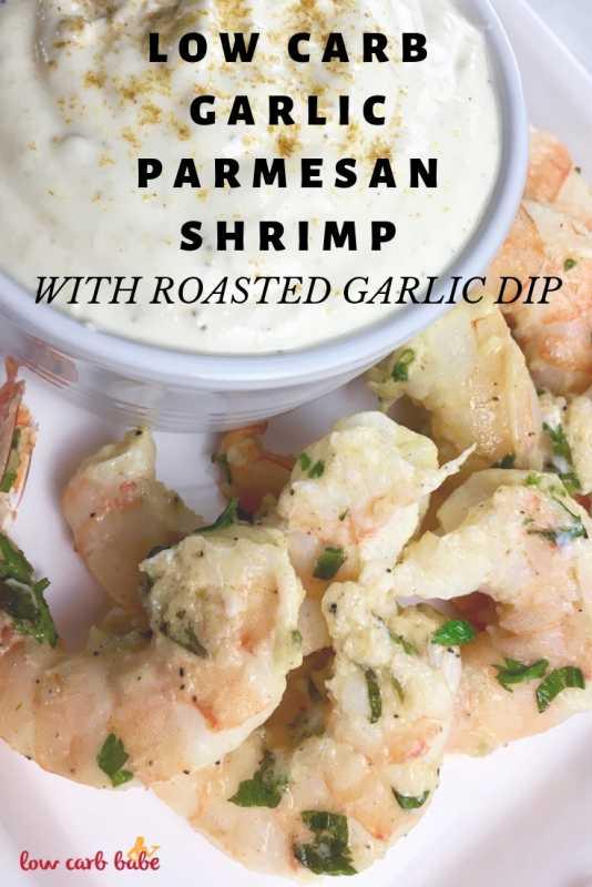 Low Carb Garlic Parmesan Shrimp