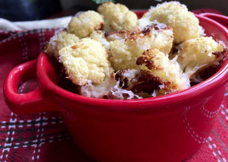 Spicy roasted cauliflower recipe